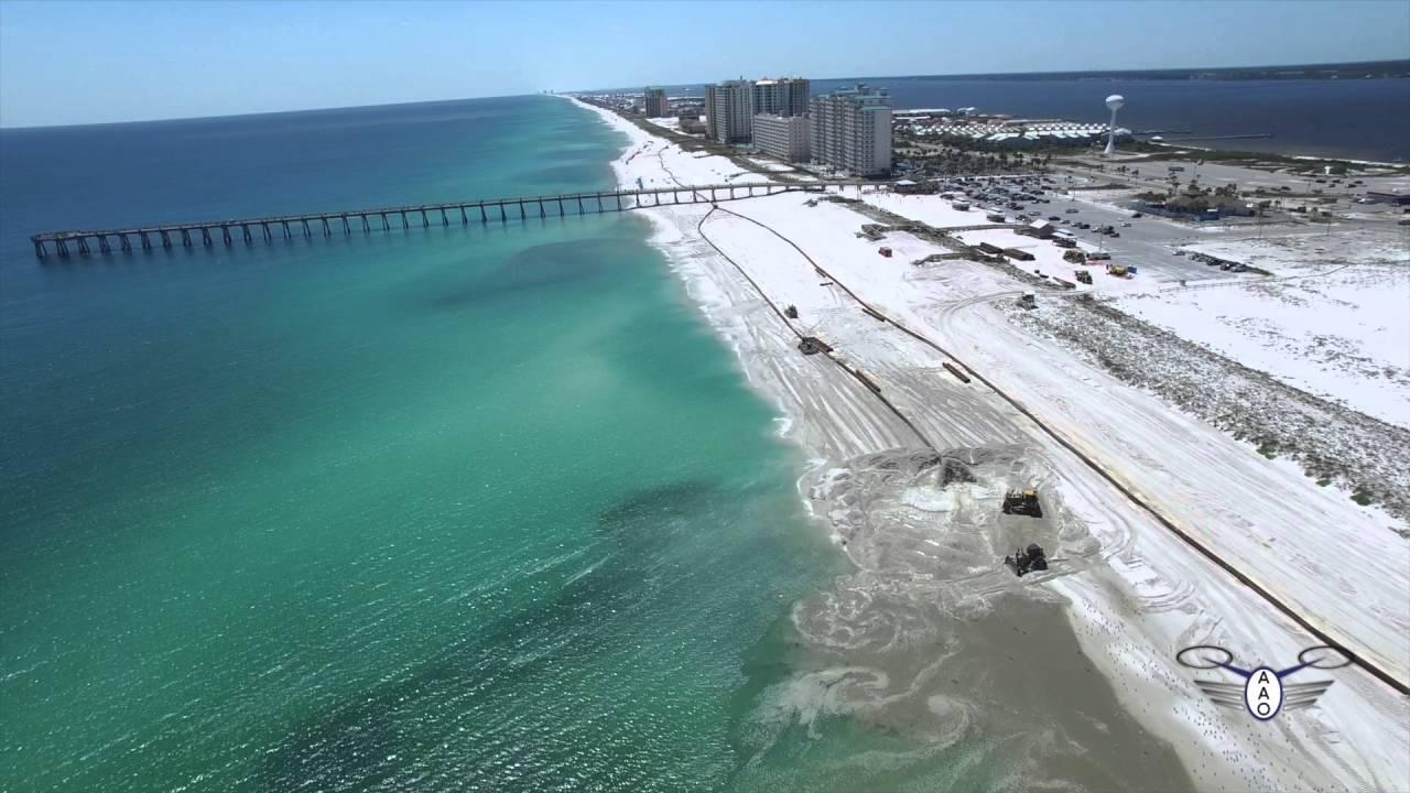 Navarre Beach Renourishment Project May 5 2016