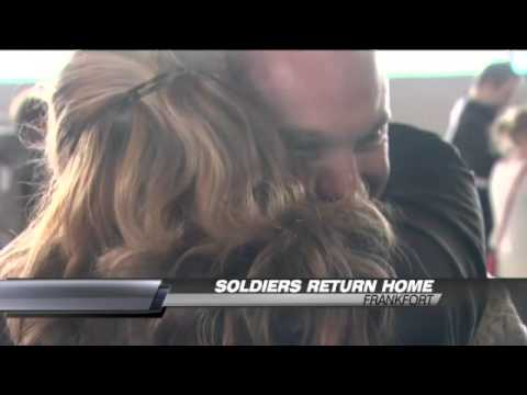 Kentucky Soldiers Return Home for the Holidays