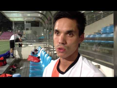 Simon Greatwich talks about Loyola & the 2013 Singapore Cup