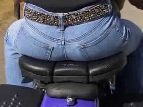 Butty Buddy - Better Passenger Seat for Motorcycles - Available at J&P Cycles
