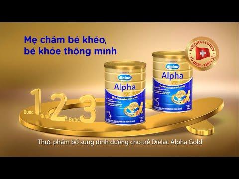 Quảng cáo Vinamilk - Sữa bột Dielac Alpha Gold 2014