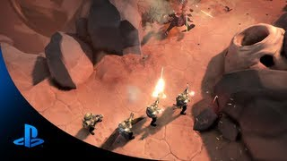 HELLDIVERS  Announce Trailer | PS4, PS3, PS Vita