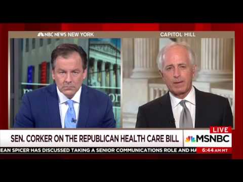 Corker on Senate AHCA