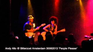 Andy Allo @ Bitterzoet Amsterdam 30062013 'People Pleaser'