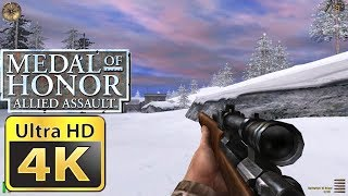 Old Games in 4K : Medal of Honor Allied Assault
