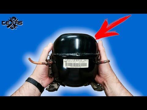 видео: Ты не поверишь!!!Что можно сделать из двигателя от холодильника!