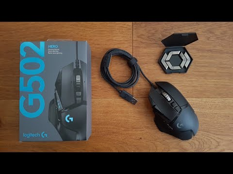 Logitech G502 Hero BEST GAMING MOUSE EVER - Unboxing And Complete Setup