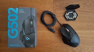 BEST GAMING MOUSE EVER - Logitech G502 Hero [Unboxing and Complete Setup]