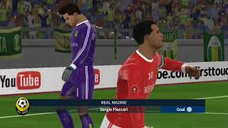 Real Madrid vs Tondela - Dream League Soccer 2018 - Android Game play #90