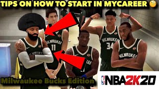 NBA 2K20 | *NEW* HOW TO BECOME A STARTER IN MYCAREER! | Tips On How To Start in MyCareer Fast!