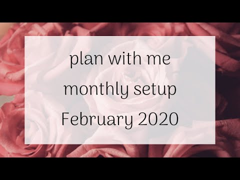 plan-with-me:-monthly-bullet-journal-setup:-february-2020-|-coffee-and-insight