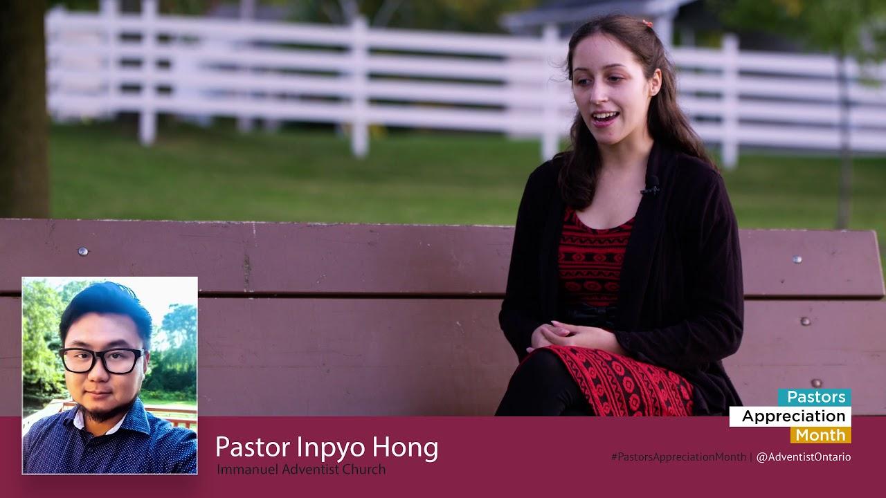 Happy Pastor Appreciation Month to pastor Impyo Hong