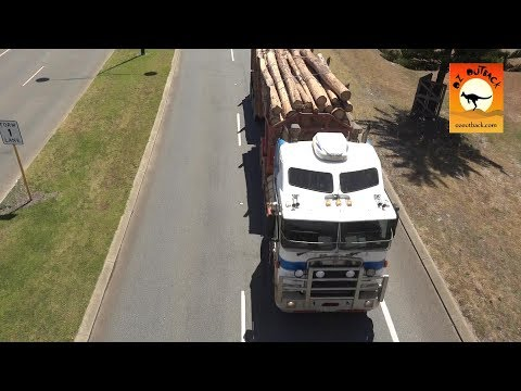 Extreme Trucks #35 - Road trains & Big Rigs of Albany Western Australia Part 1 Camions