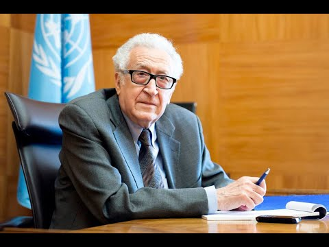 Joint United Nations - Arab League Envoy for Syria Lakhdar Brahimi