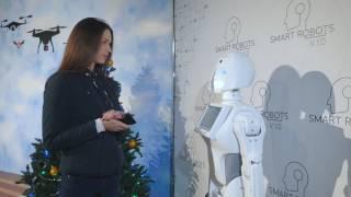 Обзор шоу выставки роботов Smart Robots в Киеве на ВДНХ