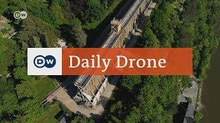 #DailyDrone: Gradierwerk Bad Kösen   DW Deutsch