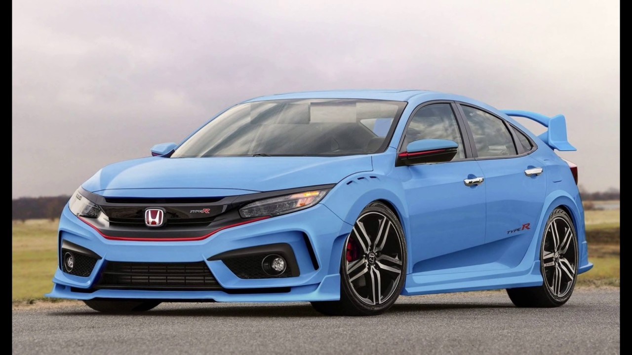 2018 Honda Civic Type R Specs >> Concept 2019 Honda New Civic Type R Coupe ?!?! - YouTube