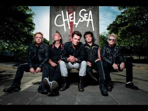 CHELSEA punk band - tour diary and recording session