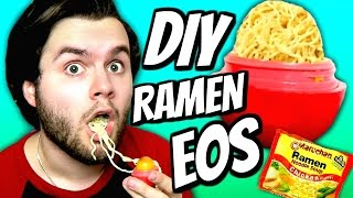 DIY Ramen Noodle EOS! | How To Make Ramen Soup Into EOS Lip Balm Tutorial!