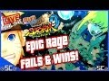 ●Epic Rage Fails & Wins! - LIVE Online「#47」| NARUTO FULL BURST【HD】●