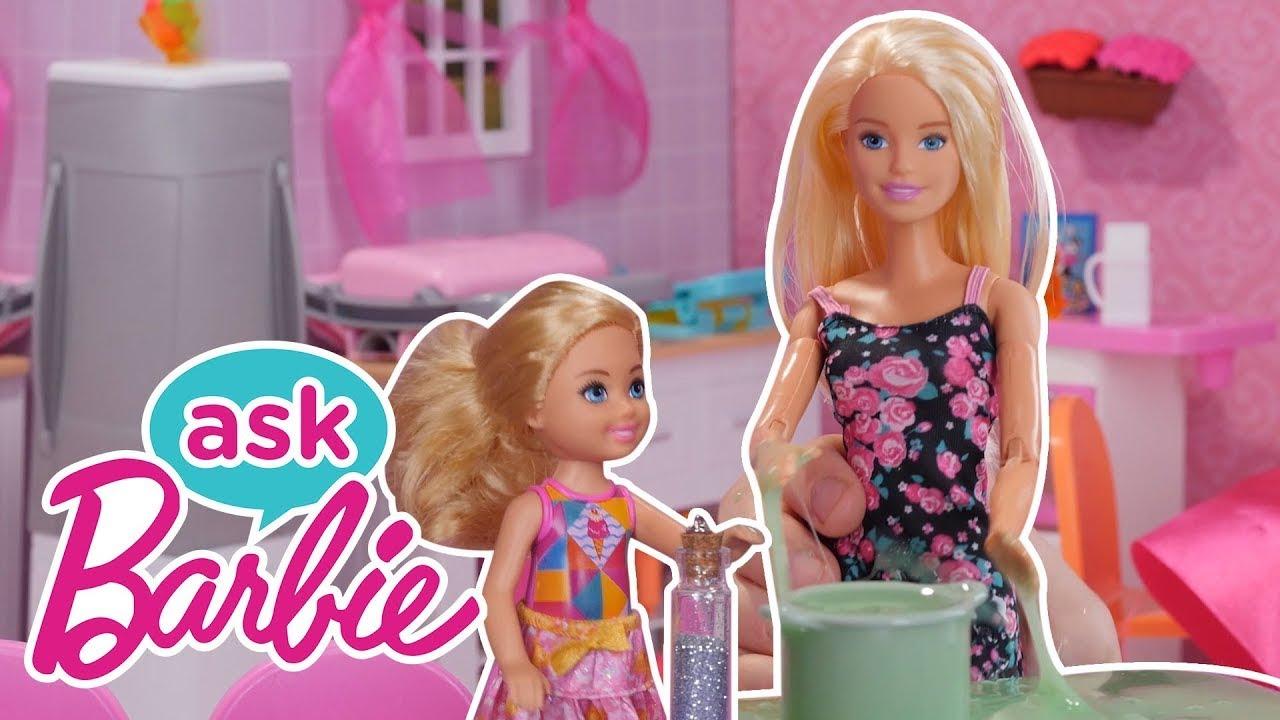 Frag Barbie: Alles rund um Slime! | @Barbie Deutsch