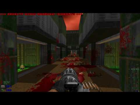 Brutal Doom v20b - Hell on Earth Starter Pack - Map03: Water Treatment Plant