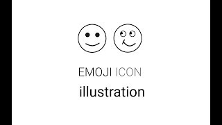 How to design emoji icon illustration in Hindi [Creative Art work]