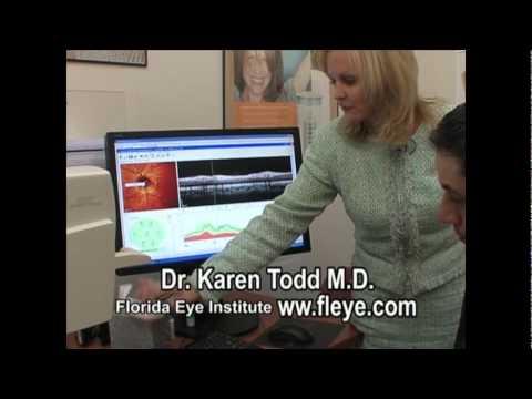Dr. Karen Todd, M.D. explains and demonstrates Heidelberg HRT / OCT (KDT).mpg