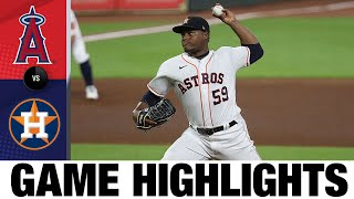 Astros' offense erupts in 11-4 win | Angels-Astros Game Highlights 8/24/20