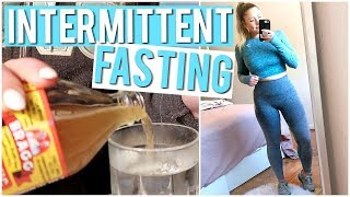 Trying Intermittent Fasting