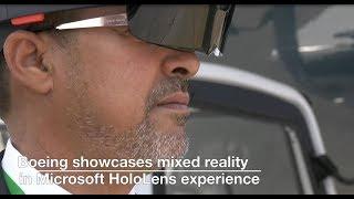 Beyond virtual: Boeing showcases mixed reality at Paris Air Show