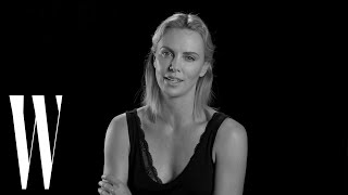 Charlize Theron on Her Shaved Head for Mad Max and Seth MacFarlane | Screen Tests | W Magazine