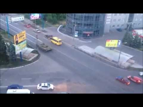 T-64 Tanks of Novorossiya in Donetsk Republic 12-Jun-2014