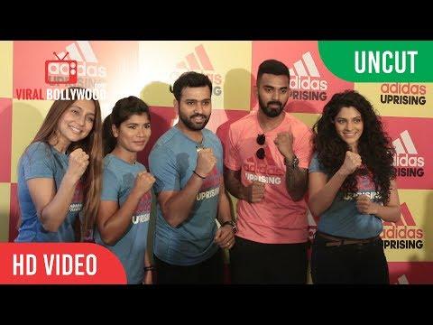 UNCUT  - Adidas Uprising 3.0 | Rohit Sharma, K.L Rahul, Saiyami Kher, Nikhat Zareen