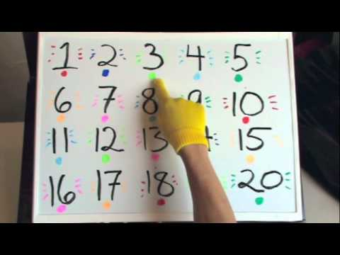 Fun With Counting Backwards 20 To 1 Part 1 Youtube