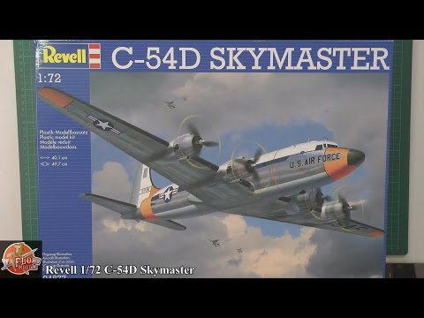 Revell 1/72nd C-54D Skymaster Review