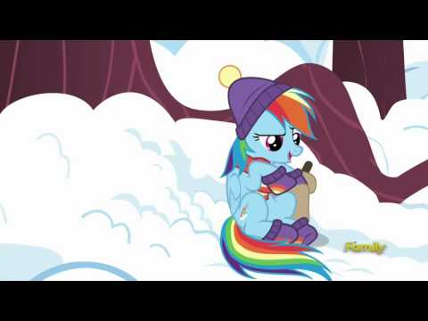 Rainbow Dash Wants To Read Tank A Bedtime Story