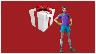 Gifting My Friend A Soccer Skin In Fortnite