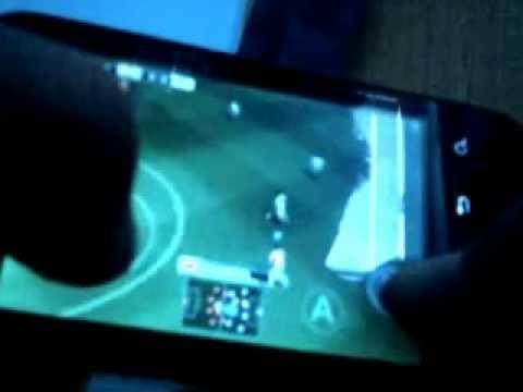PES 2012 on Motorola Defy Mini xt320 :))