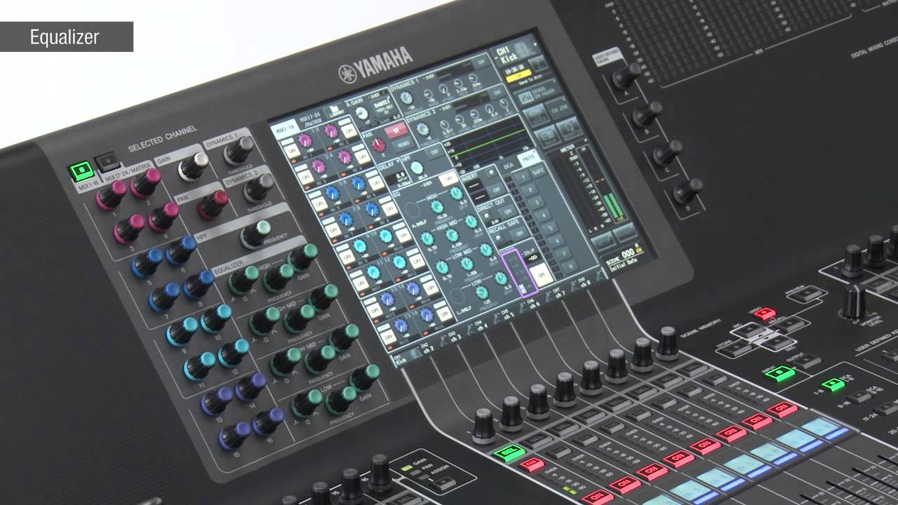 Cl ql series training video 3 4 input channel basics doovi for Yamaha ql 3