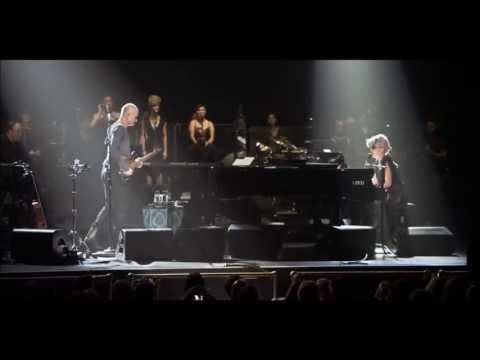 Sting feat Lady Gaga - King of pain HD