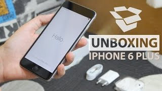 iPhone 6 Plus - Unboxing y primer encendido