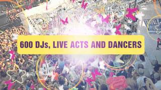 Street Parade Zuerich - Official Trailer 2013