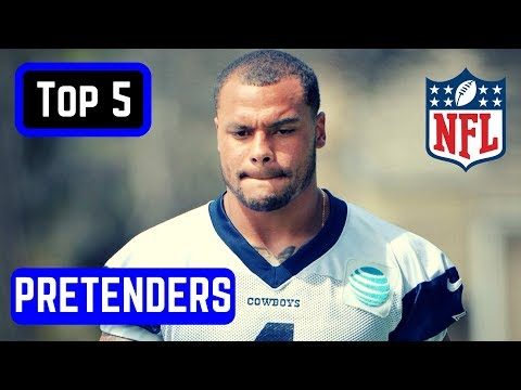 Top 5 NFL Playoff Pretenders 2017