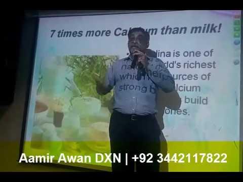 DXN Spirulina Training Program in Pakistan Urdu/Hindi Part4