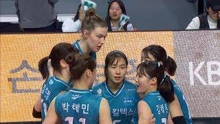 [V리그] GS칼텍스 : 한국도로공사 경기 다시보기 (…