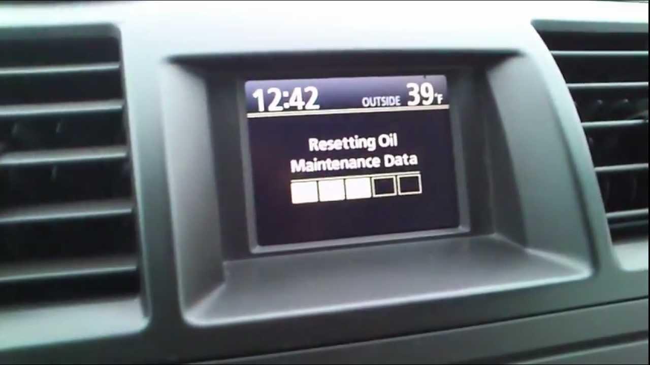 Kasowanie Inspekcji TOYOTA HIGHLANDER Oil Service Indicator Light Reset TOYOTA HIGHLANDER - YouTube