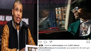"""(WOW) JERMALL CHARLO CALLS OUT CHRIS EUBANKS JR. ! """"YOU BEEN RUNNIN YOUR MOUTH"""" LETS GO NEXT"""