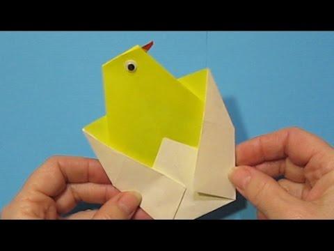 Оригами на открытку яйца, открытка