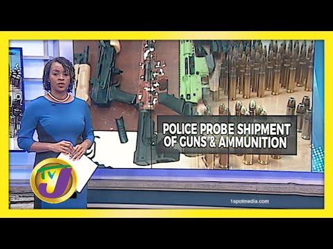 Police Probing Major Gun Find at St. James Port | TVJ News